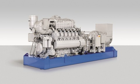 The MTU Onsite Energy CHP system produces 1,149 kilowatts of electricity and 4,137,000 Btu's per hour by utilizing the exhaust heat recovery system. (Photo: Business Wire)