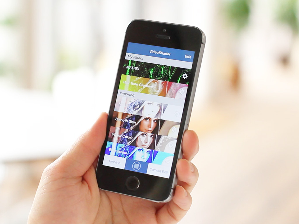 The top screen image of an application (Photo: Business Wire)