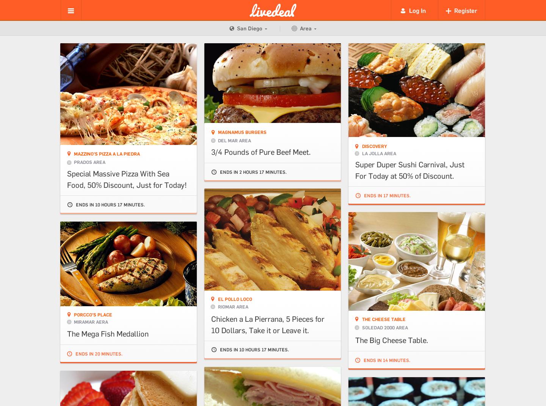 LiveDeal.com - Geo-Location Based Restaurant Mobile Marketing Platform (Graphic: Business Wire)