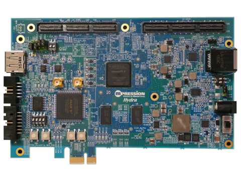 FPGA development kit for car infotainment (Hydra) (Photo: Business Wire)