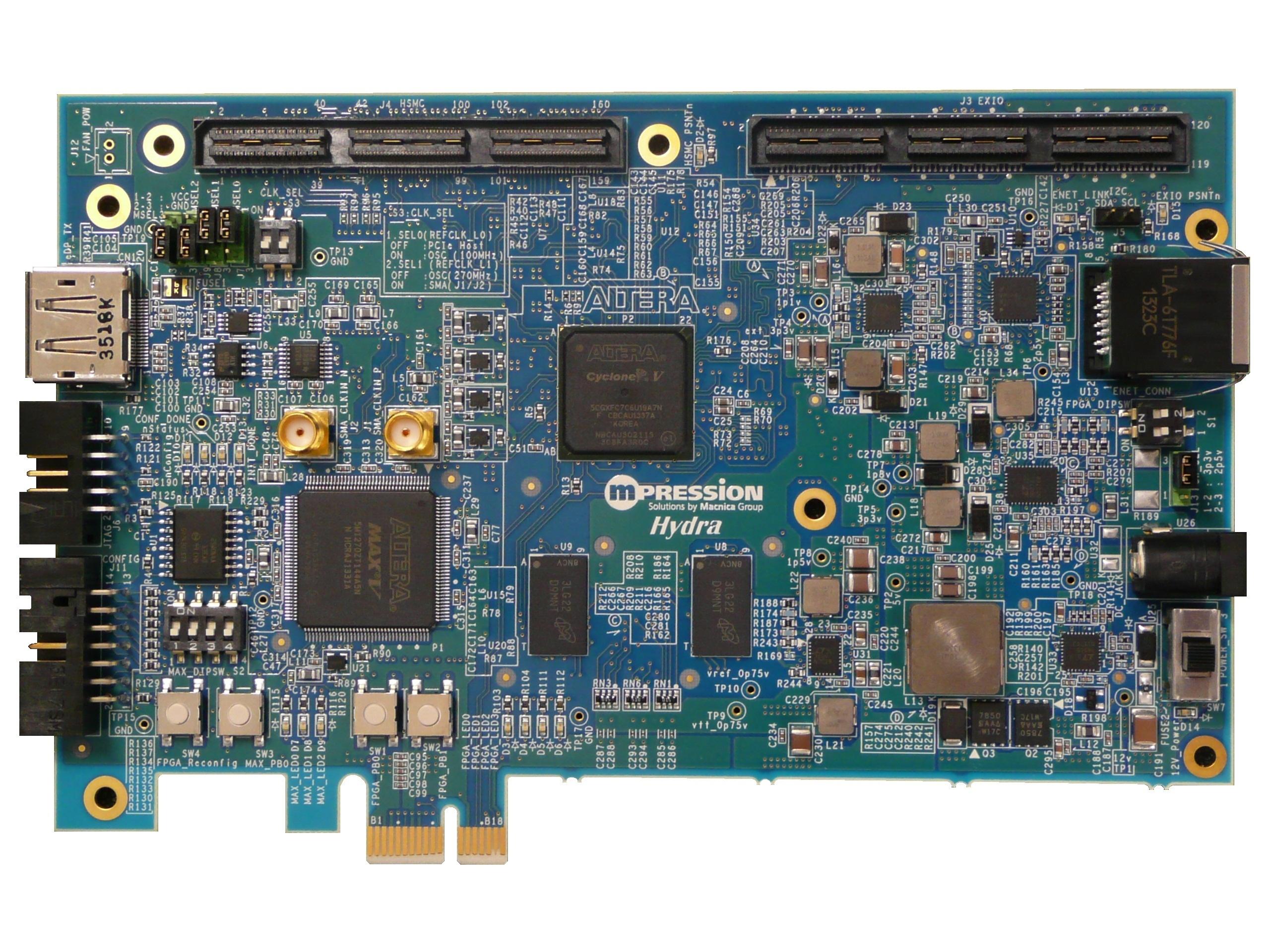 FPGA development kit for car infotainment (Hydra) (Photo: Business Wire)