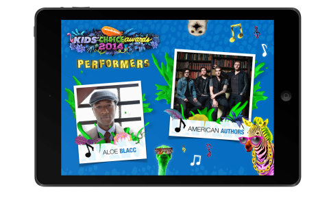 Chart-Toppers Aloe Blacc and American Authors Take the Stage at Nickelodeon's 27th Annual Kids' Choice Awards (Photo: Business Wire)