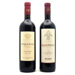 San Antonio Winery (left), Constellation Enjoined Label (right)