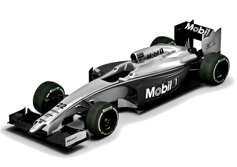 In honor of Mobil 1 and McLaren's 20th technical and commercial relationship anniversary, McLaren's Formula 1 cars will feature a special one-time livery at the Australian Grand Prix. (Photo: Business Wire)