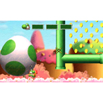 In Yoshi's New Island, launching March 14 for Nintendo 3DS, Yoshi can throw giant Mega Eggdozers that plow through the environment to open new areas. (Photo: Business Wire)