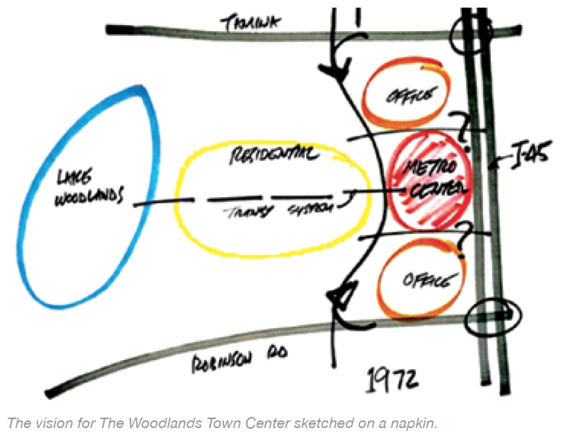 The Woodlands Napkin (Graphic: Business Wire)