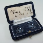 M. T. Contact Lens, the first corneal contact lens in Japan, 1953. (Photo: Business Wire)