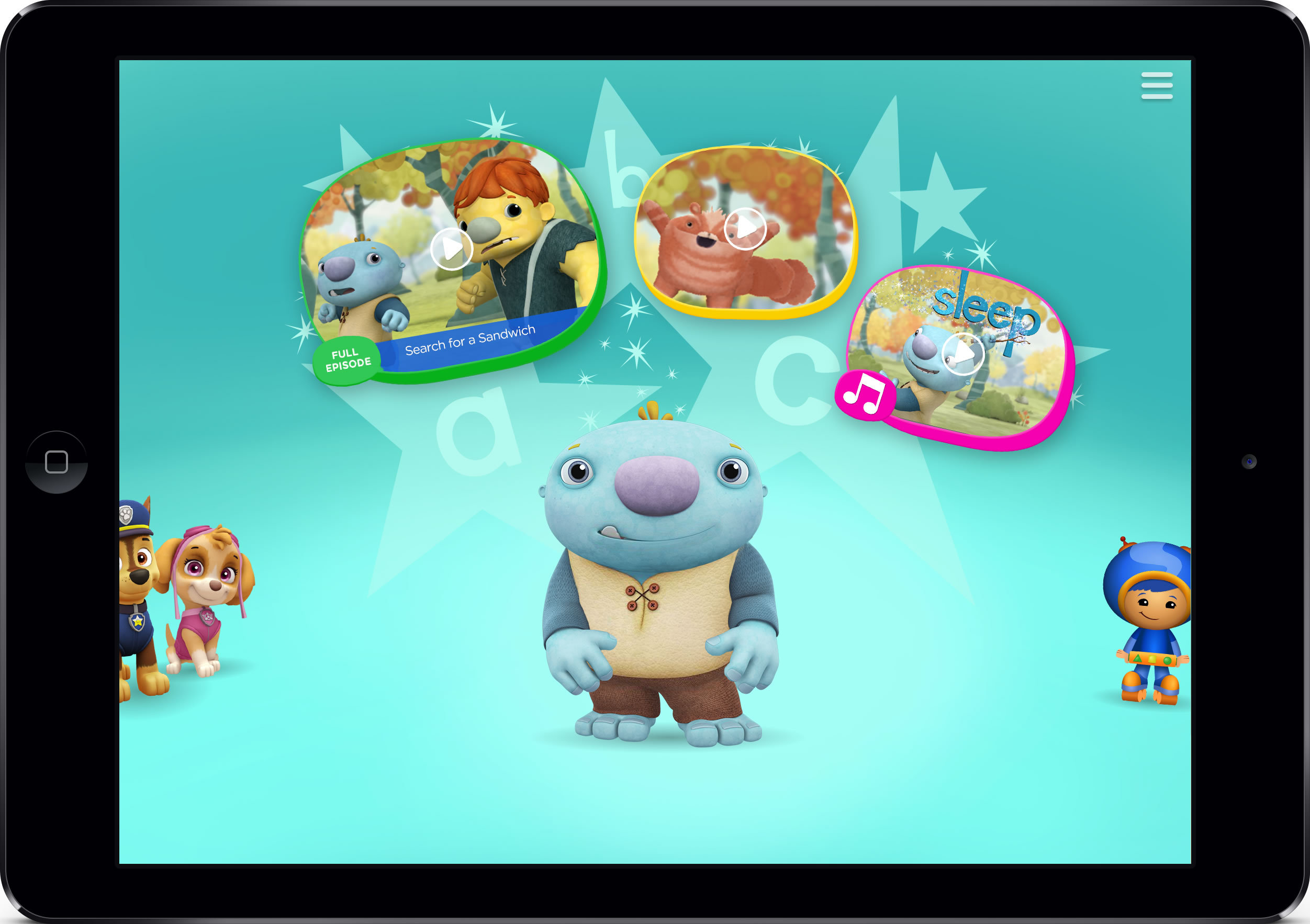 nickelodeon to debut nick jr app with tv everywhere featuring