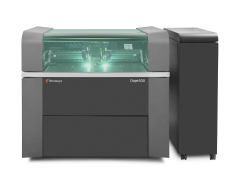 Objet500 Connex3 Color Multi-material 3D Printer (Photo: Stratasys)