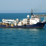 McDermott's Thebaud Sea is contracted for a third pipe repair project. (Photo: Business Wire)