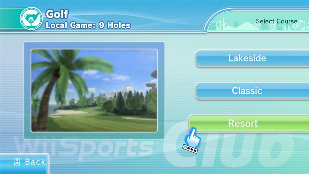 Wii Sports Club screenshot (Photo: Business Wire)