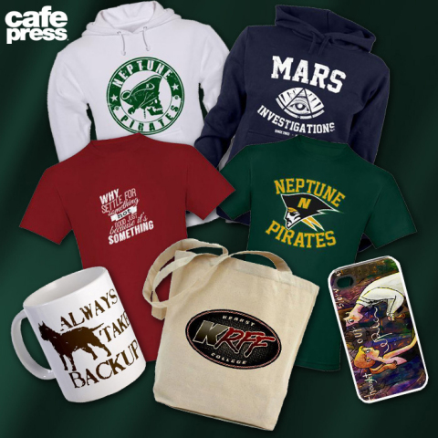Veronica Mars Fan-Designed Gear Available on CafePress (Photo: Business Wire)