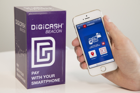 Digicash Beacon. (Photo: Business Wire)