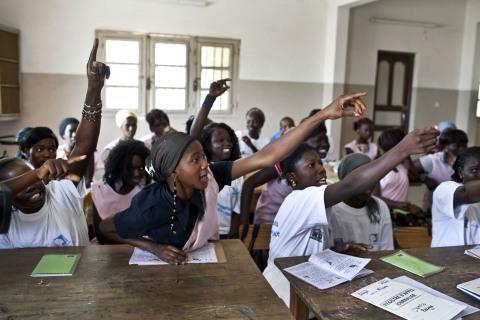 © Always UNESCO literacy program in Senegal