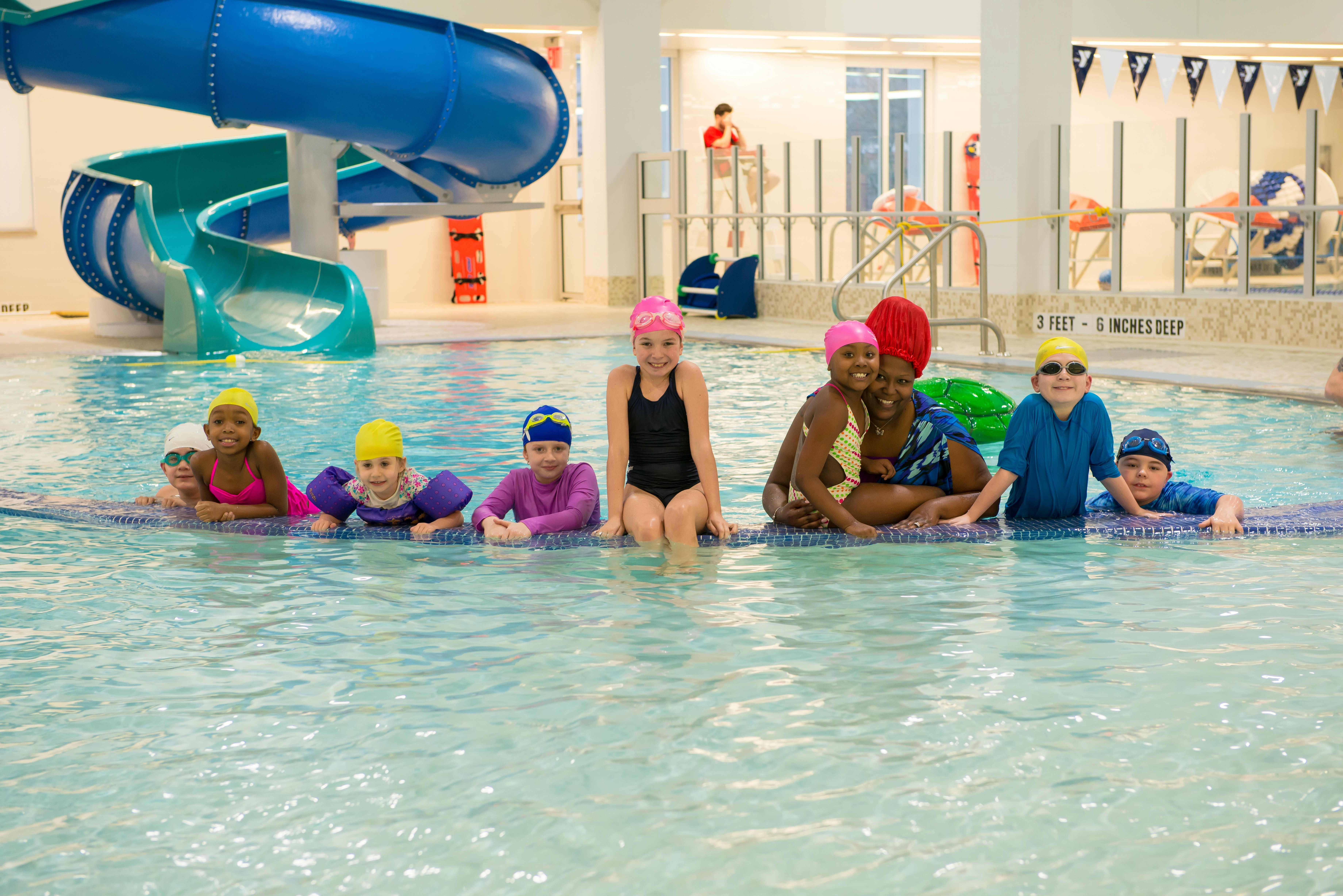 The aquatics center at the new Rockaway YMCA at Arverne by the Sea will teach thousands of local kids basic water safety and swimming skills. (Photo: Business Wire)