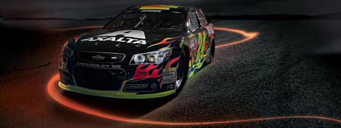 """Brilliant Flames"" Axalta No. 24 SS Chevrolet (Photo: Business Wire)"