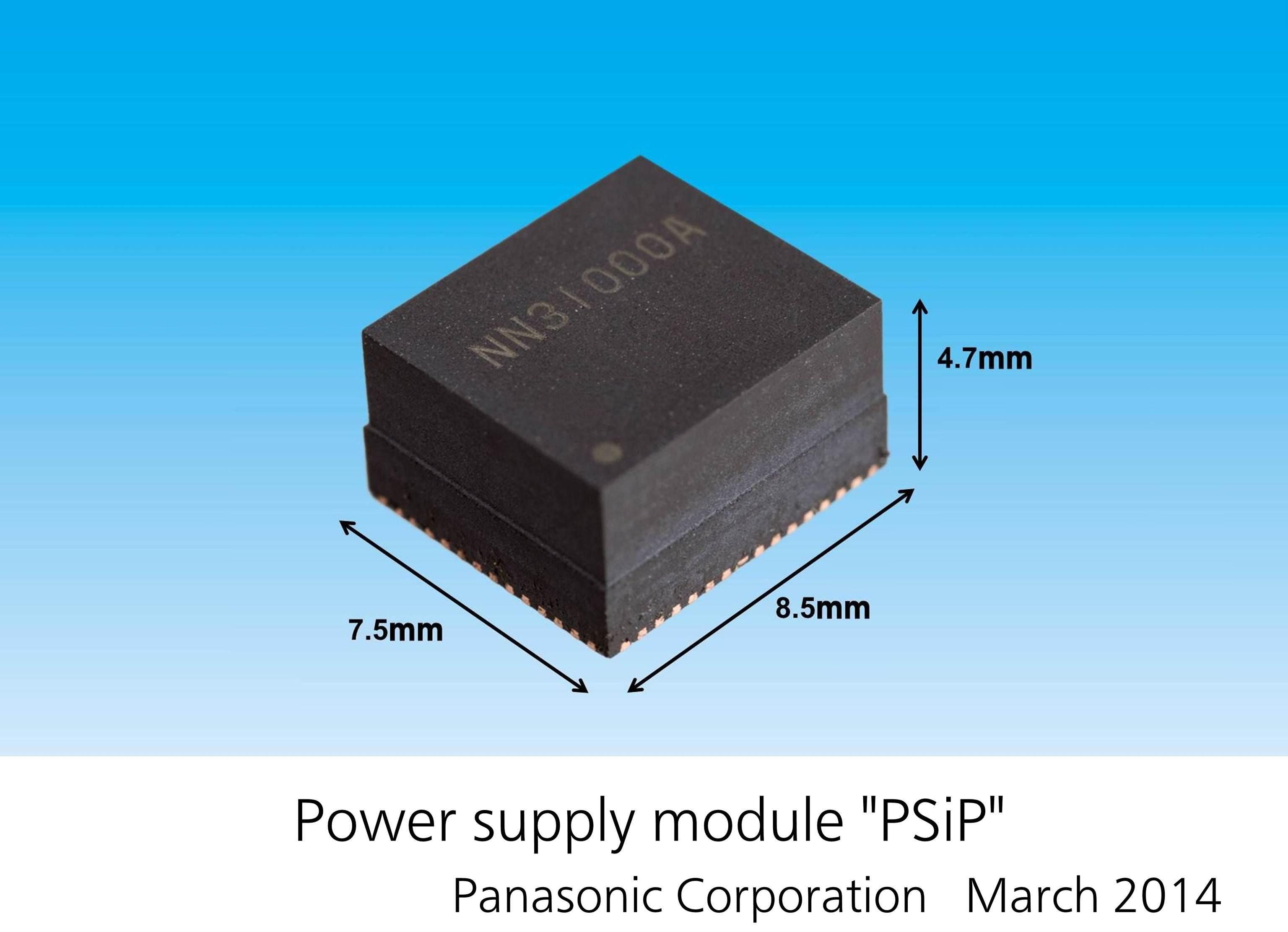 "Power supply module ""PSiP"", Panasonic Corporation, March 2014. (Photo: Business Wire)"