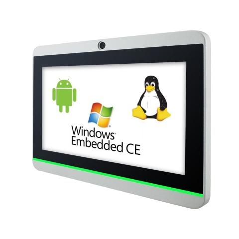 Android and Windows Embedded CE Industrial Touch Panel PC Computer (Photo: Business Wire)