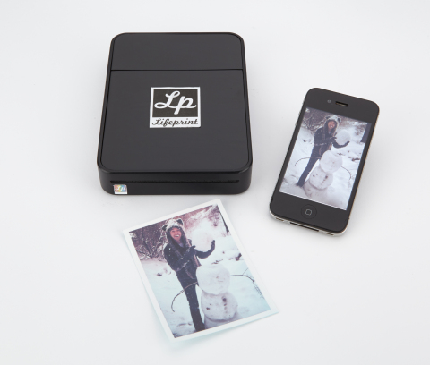 LifePrint is a portable and wireless photo printer for your smartphone. (Photo: Business Wire)