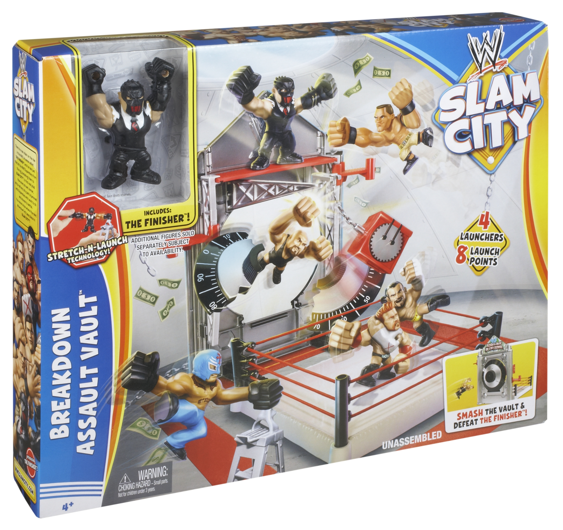 WWE Slam City(TM) merchandise is currently available at major retail stores.