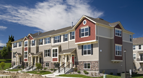New Townhomes at SouthWest Village in Chanhassen, MN (Photo: Business Wire)