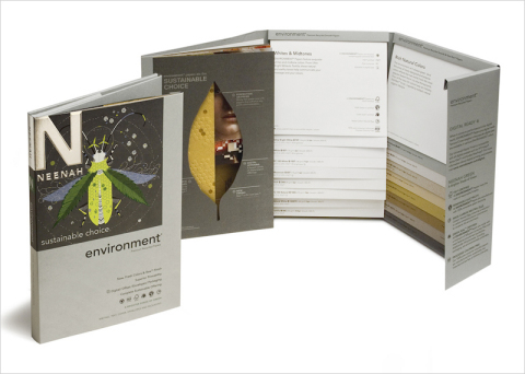 Neenah announces the relaunch of its Environment® Papers premium recycled papers line with fresh, ne ...