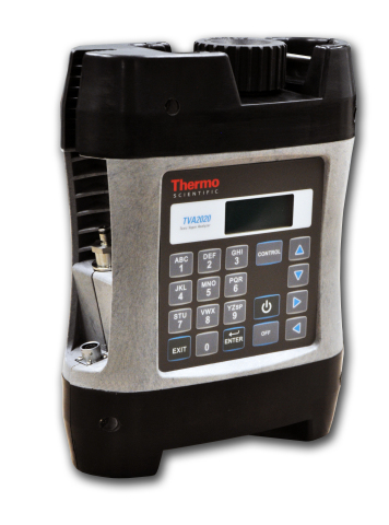 The Thermo Scientific TVA2020 Toxic Vapor Analyzer is a new, portable, intrinsically safe toxic vapo ...