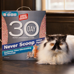 Now on shelves, Simple Solution® 30 day Super Absorbent Litter is a new cat litter made from super absorbent, lightweight pure attapulgite clay combined with an exclusive odor-eliminating technology, giving cat parents a better option for their litter needs. (Photo: Business Wire)