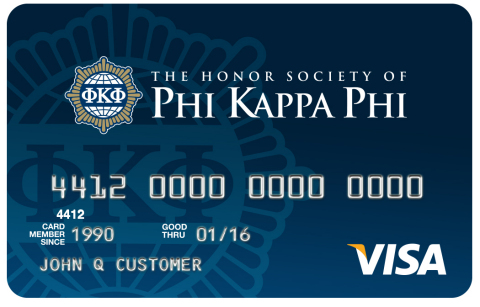 Honor Society of Phi Kappa Phi and Commerce Bank have come together to offer Phi Kappa Phi members a Visa(R) rewards credit card. (Photo: Business Wire)