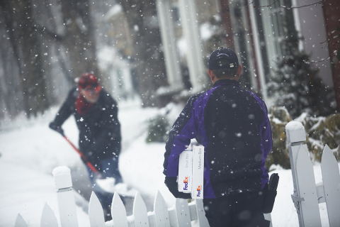 """Frederick W. Smith, chairman, president and chief executive officer of FedEx Corp., said he was """"very proud of the FedEx team"""" for delivering outstanding service to customers during the company's third quarter despite severe weather. (Photo: Business Wire)"""
