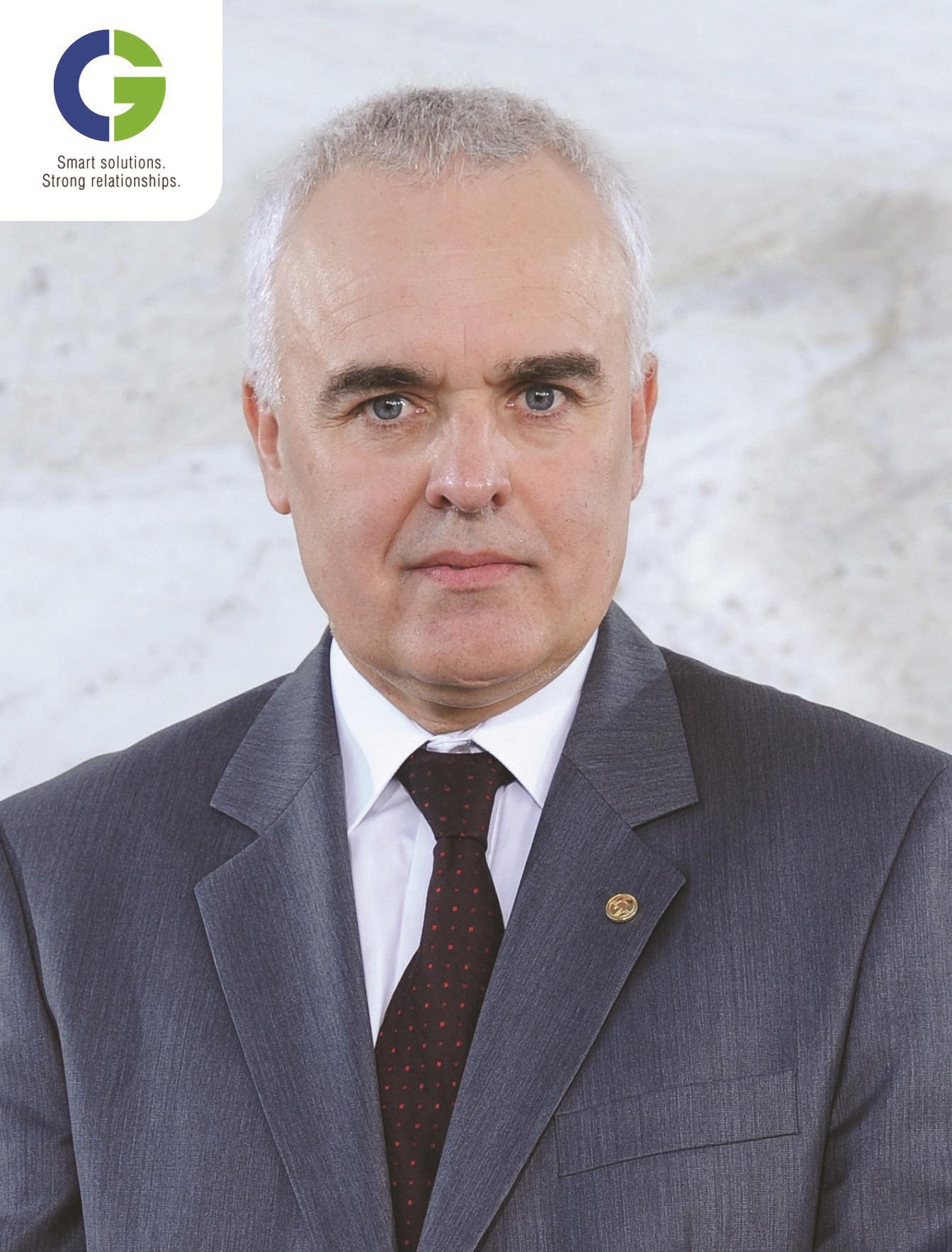 Mr. Laurent Demortier, CEO and Managing Director of CG