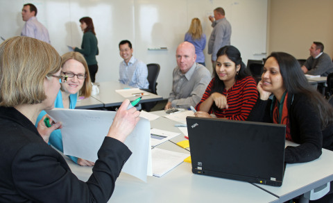 Courses delivered by HealthEdge Education Services focus on hands-on exercises that emphasize retention and application of new skills. (Photo: Business Wire)