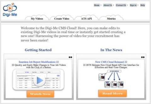 Digi-Me Cloud Based Video Platform (Graphic: Business Wire)