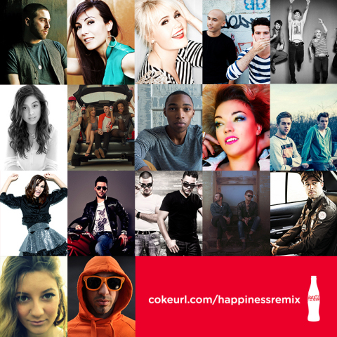Happiness Remix is the latest addition to the Coca-Cola Open Happiness campaign which has launched in over 200 markets worldwide. To learn more about the making of Happiness Remix and to get to know the artists involved, visit Coca-Cola Journey at http://www.coca-colacompany.com/stories/is-this-the-worlds-happiest-song. (Photo: Business Wire)