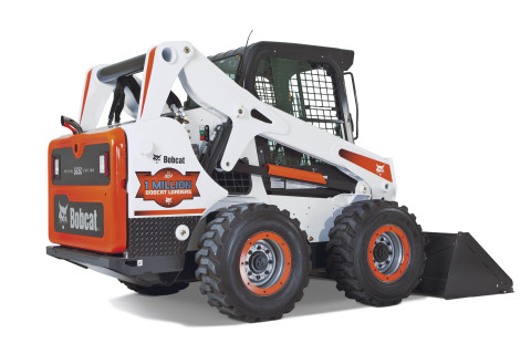 Special Edition One-Millionth Bobcat Loaders will be available in limited quantities during 2014. One of the loaders is also the grand prize for a contest Bobcat Company is running through June. (Photo: Business Wire)