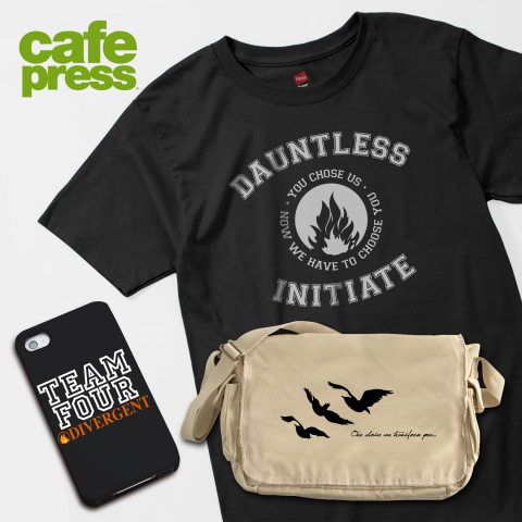 Summit Entertainment Partners with CafePress to Create DIVERGENT Inspired Merchandise available at CafePress.com (Photo: Business Wire)
