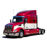 Peterbilt Truck Model 579 in Diamond Red (Photo: Business Wire)