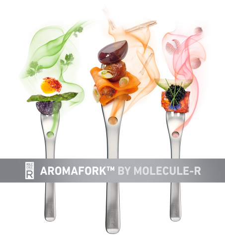 AROMAFORK tricks your mind and changes the way you perceive flavors! (Photo: Business Wire)