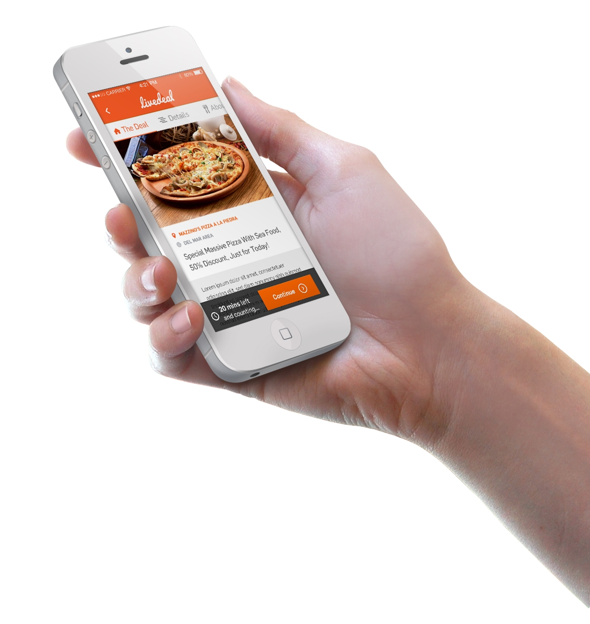 www.LiveDeal.com is the world's first deal engine... a real-time, online marketplace that connects consumers with local restaurants. (Photo: Business Wire)