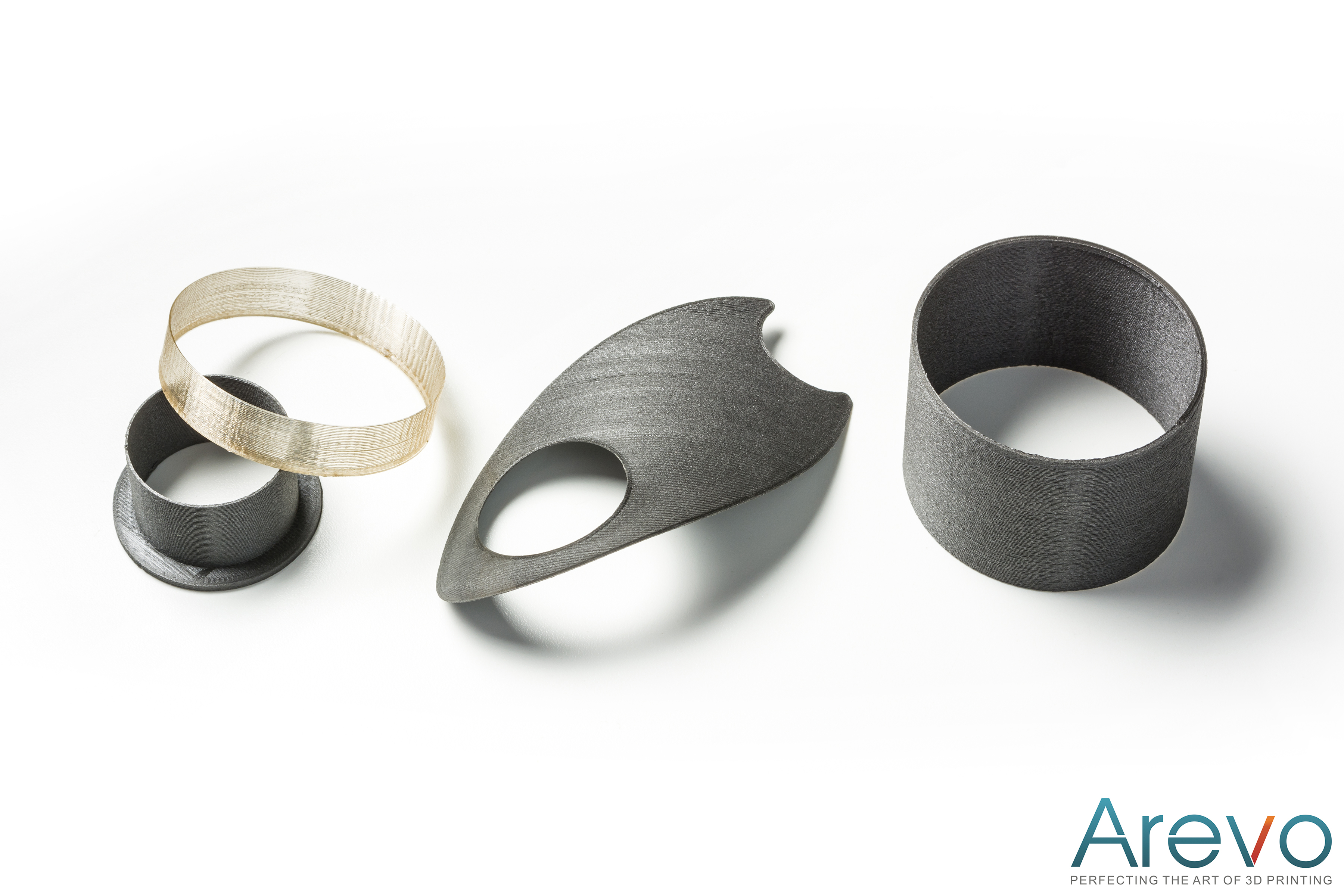 3D printed Ultra Strong Polymer Parts(TM) from Arevo Labs are lighter and stronger than similar products and combine excellent resistance to high temperatures and chemicals with unmatched mechanical properties.
