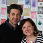 Patrick Dempsey shares details of his philanthropic journey with Giving With Purpose instructor Rebecca Riccio. (Photo: Business Wire)