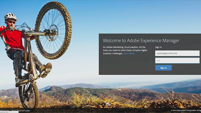 Adobe's Cedric Huesler discusses and demonstrates the new Adobe Experience Manager.