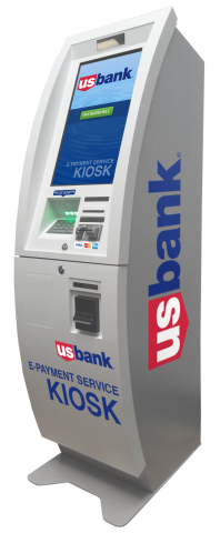 U.S. Bank's new freestanding e-payment kiosks can be placed on-site, allowing customers to pay bills ...