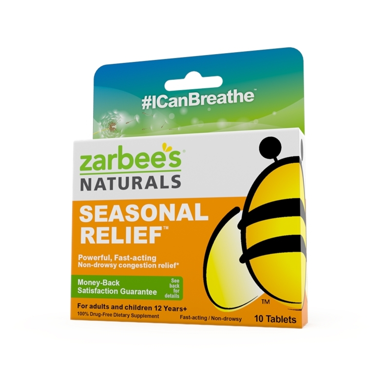 Zarbee's Naturals Seasonal Relief (Photo: Business Wire)
