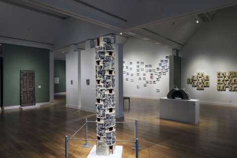 GE's Infusion™ LED Modules and Journée lighting fixtures provide improved control to light artwork while saving on energy and maintenance costs. (Photo credit: The Virginia Museum of Contemporary Art, 2014.)