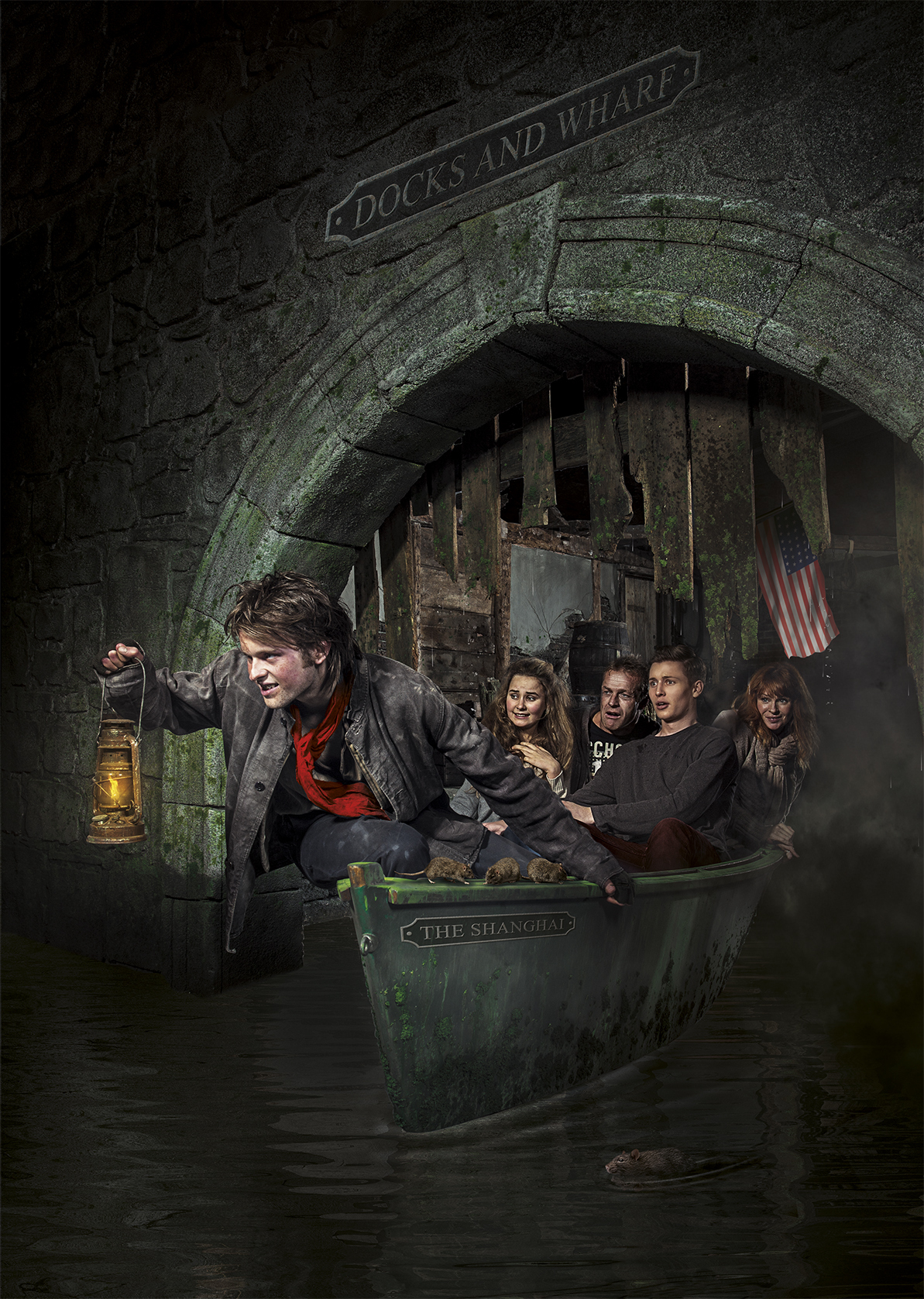 The San Francisco Dungeon, North America's first-ever Dungeon, opens summer of 2014 (Photo: Business Wire)