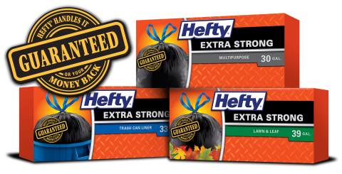 New Hefty(R) Money-Back Guarantee (Graphic: Business Wire)