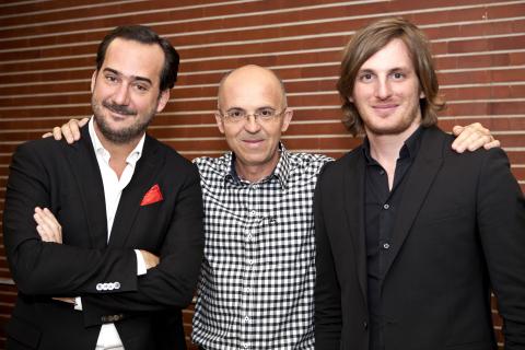 Bertrand Quesada/Pierre Chappaz/Loïc Soubeyrand ©caroline deloffre (Photo: Business Wire)