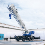 160 ton capacity Tadano GR-1600XL-2 Rough Terrain Crane (Photo: Business Wire)