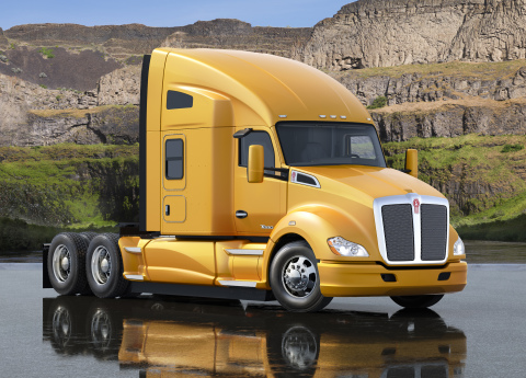 The new, factory-installed Kenworth Idle Management System is now available as an option for the Kenworth T680 with a 76-inch sleeper. (Photo: Business Wire)